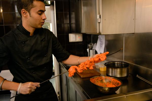 Food Preparation at Shahi